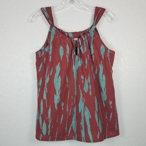 Old Navy tank Maroon and blue colors size: M